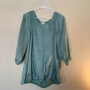 Mint Green Tunic Top